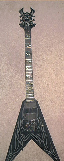 90s B C Rich Kerry King V Rico Signed